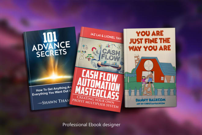 I will design eye catching book covers buy 1 get 1 free in 2 hrs