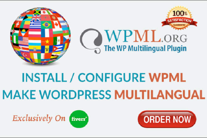 I will do wordpress translation using wpml