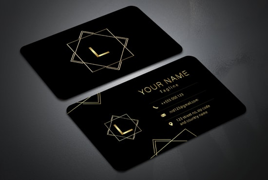 I will design gold foil, vistaprint, and moo print business card