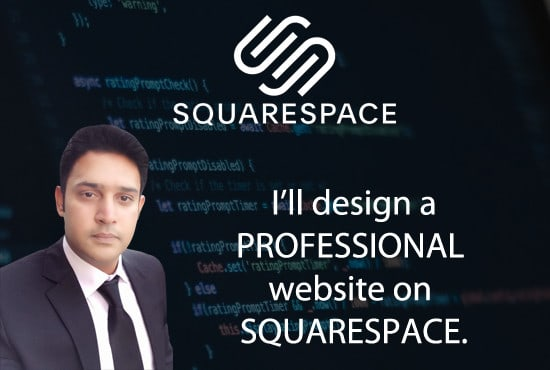 I will build stunning squarespace website