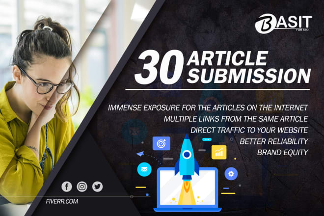 I will perform article distribution work for your site