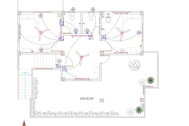 Electrical Floor Plan Layout Oferta