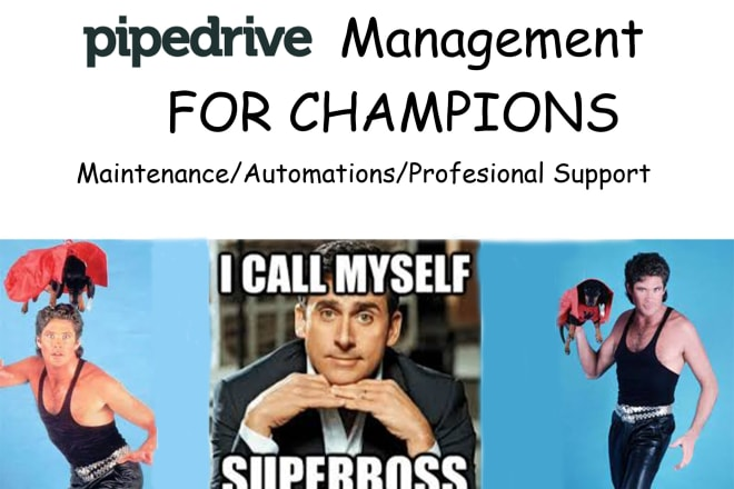 I will manage your pipedrive CRM