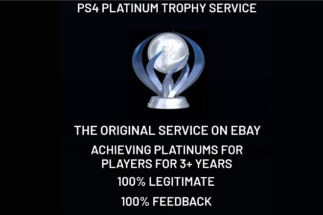 I will playstation platinum trophy service