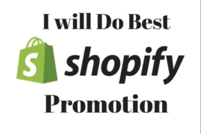 I will promote and market shopify store and generate sales with seo and backlinks