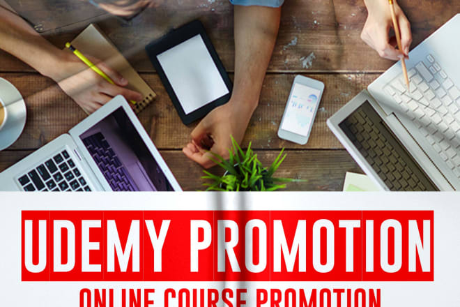 I will promote thinkific udemy course to targeted niche students