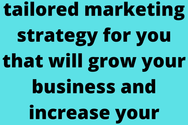I will provide a profitable digital marketing strategy and plan