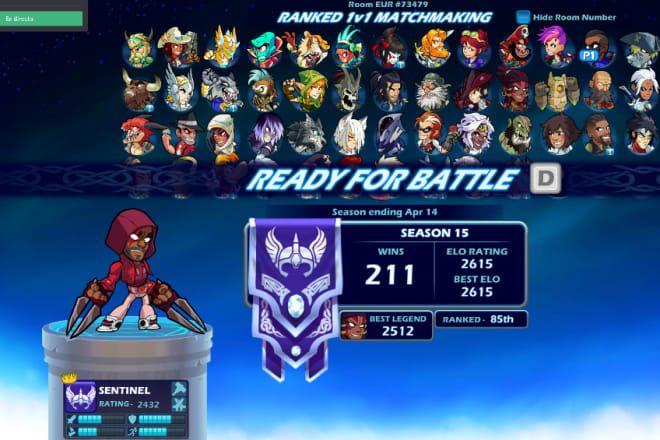 I will b00st you in brawlhalla 1vs1