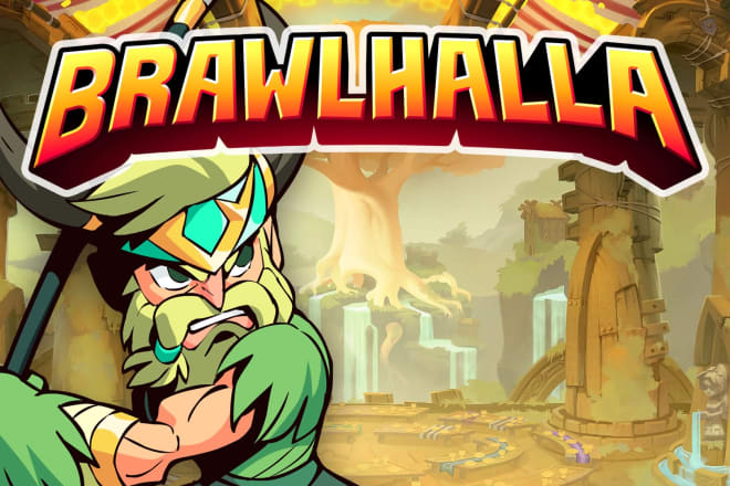 I will help you reach platinum rank in brawlhalla